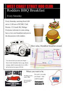 West coast street rod club